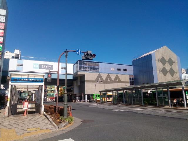 西葛西駅イメージ画像。